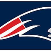 New England Patriots Poster by Tony Rubino