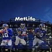 New York Giants Metlife Stadium Poster by Joe Hamilton