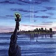 New York  Poster by John YATO
