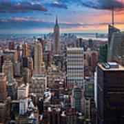 New York New York Poster by Inge Johnsson