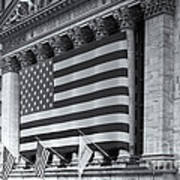 New York Stock Exchange Iv Poster by Clarence Holmes