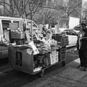 New York Street Photography 5 Poster by Frank Romeo