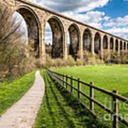 Newbridge Viaduct Poster by Adrian Evans