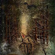 Night Story Poster by Svetlana Sewell