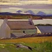 Nightfall  Iona Poster by Francis Campbell Boileau Cadell