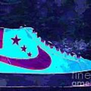 Nike Blazer Poster by Alfie Borg