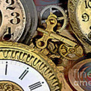 No More Time Poster by Tom Gari Gallery-Three-Photography