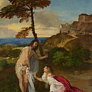 Noli Me Tangere Poster by Titian