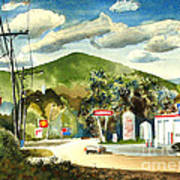 Nostalgia Arcadia Valley 1985  Poster by Kip DeVore