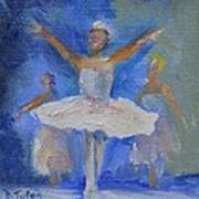 Nutcracker Ballet Poster by Donna Tuten