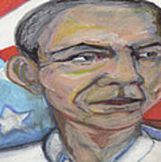 Obama 2012 Poster by Derrick Hayes