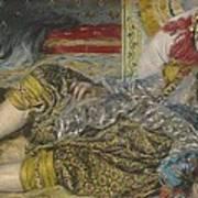Odalisque Poster by Pierre Auguste Renoir