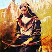 Oglala Homeland Poster by Lianne Schneider