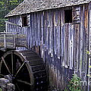 Old Cades Cove Mill Poster by Paul W Faust -  Impressions of Light