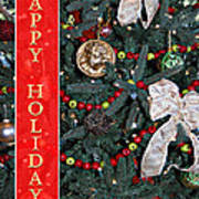 Old Fashioned Christmas Poster by Carolyn Marshall