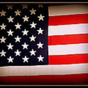 Old Glory Poster by Ernie Echols