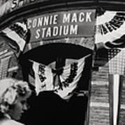 Old Shibe Park - Connie Mack Stadium Poster by Bill Cannon