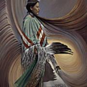 On Sacred Ground Series I Poster by Ricardo Chavez-Mendez