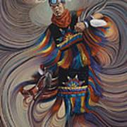 On Sacred Ground Series II Poster by Ricardo Chavez-Mendez