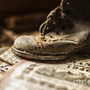 One Single Shoe Poster by Terry Rowe