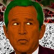 Oompaloompa Bush Poster by Andrew Kaupe