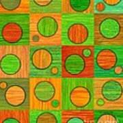 Orange Soup Poster by David K Small