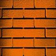 Orange Wall Poster by Semmick Photo