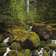 Oregon's Watson Falls Poster by Andrew Soundarajan