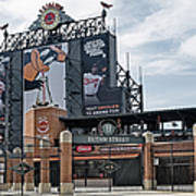 Oriole Park At Camden Yards Poster by Susan Candelario