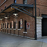 Oriole Park Box Office Poster by Susan Candelario