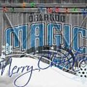 Orlando Magic Poster by Joe Hamilton