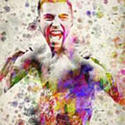 Oscar De La Hoya Poster by Aged Pixel