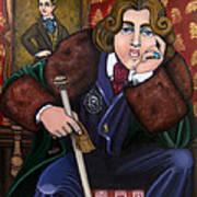 Oscar Wilde And The Picture Of Dorian Gray Poster by Victoria De Almeida