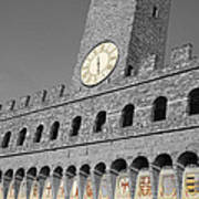 Palazzo Vecchio At Florense Poster by Aleksandar Hajdukovic
