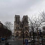 Paris France - Notre Dame De Paris - 011311 Poster by DC Photographer