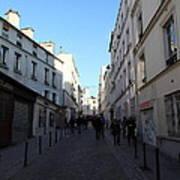 Paris France - Street Scenes - 01131 Poster by DC Photographer