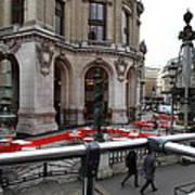 Paris France - Street Scenes - 0113115 Poster by DC Photographer