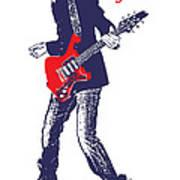 Paul Gilbert No.01 Poster by Caio Caldas