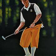 Payne Stewart Poster by Paul Meijering