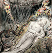 Pd.20-1950 Christs Troubled Sleep Poster by William Blake