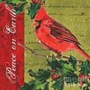 Peace On Earth 2 Poster by Debbie DeWitt
