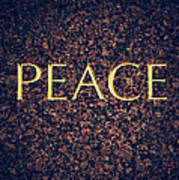 Peace Poster by Tim Gainey