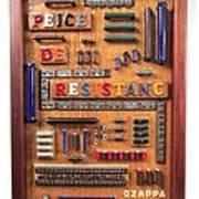 Peice De Resistanc Poster by Bill Czappa