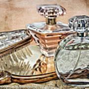 Perfume Bottle Ix Poster by Tom Mc Nemar