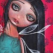 Perla Poster by  Abril Andrade Griffith