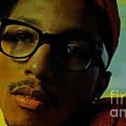 Pharrell Williams Poster by Marvin Blaine