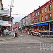 Philadelphia Italian Market 4 Poster by Jack Paolini
