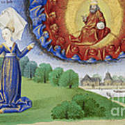 Philosophy Instructs Boethius On God Poster by Getty Research Institute