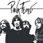 Pink Floyd No.05 Poster by Caio Caldas
