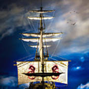 Pirates Poster by Bob Orsillo